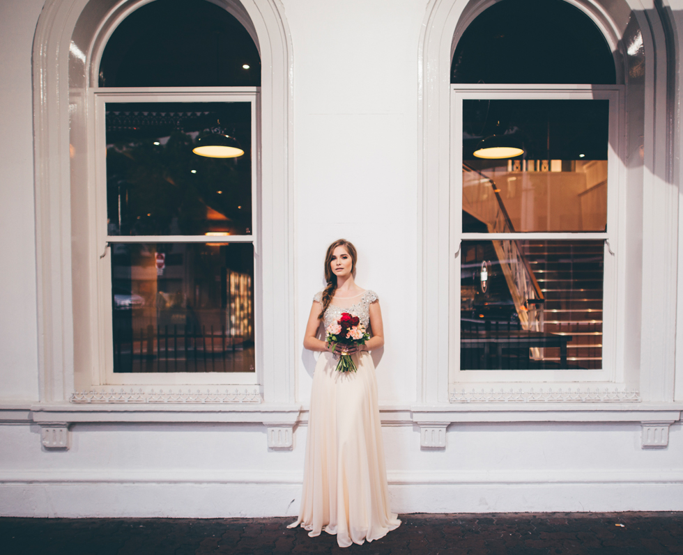 weddings at the Transcontinental Hotel | bride photos
