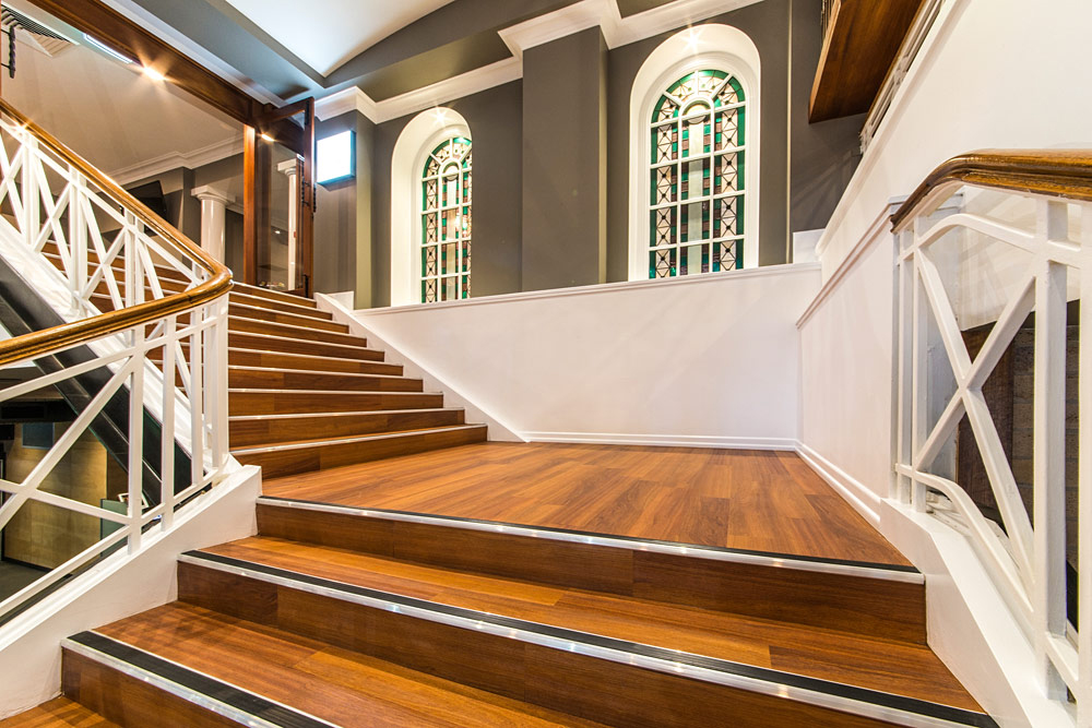 Weddings at the Transcontinental Hotel | Stairs
