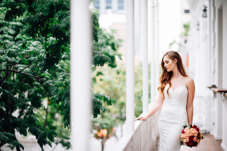 Weddings at the Transcontinental Hotel | Balcony